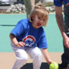 The Moody Miracle League was in full swing on Saturday with home runs all around the field. Dava Walker of the Cubs was all smiles as she was fielding the ball ready to throw it in.